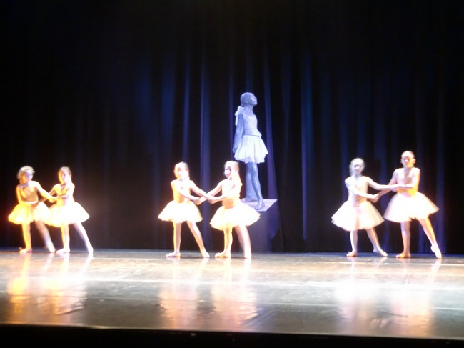 `La petite danseuse` de Degas