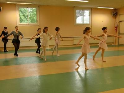 apprentissage des pirouettes
