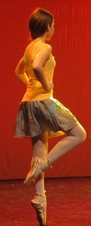 danser sur pointes